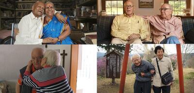 Vier Paare – ein gemeinsames Leben.