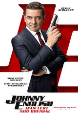 Johnny English - Man lebt nur dreimal - Poster