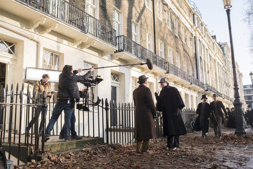 Holmes und Watson mit Will Ferrell