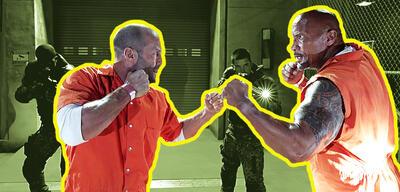 Jason Statham und Dwayne Johnson in der Fast & Furious-Reihe