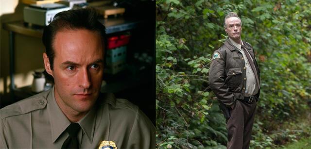 Harry Goaz in Twin Peaks 1990 und 2017