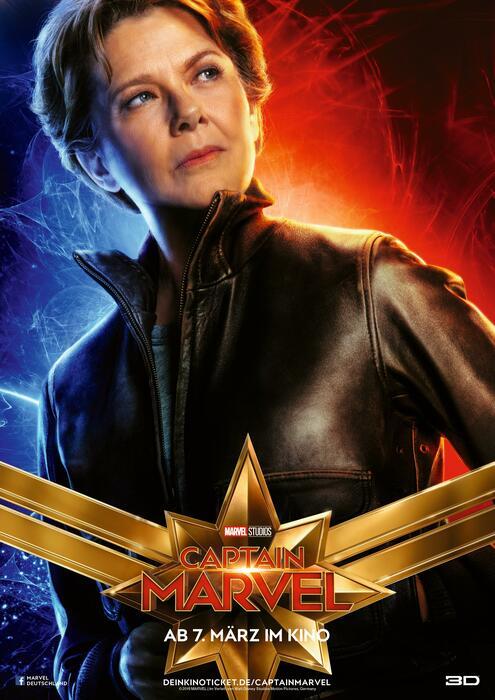 Captain Marvel mit Annette Bening