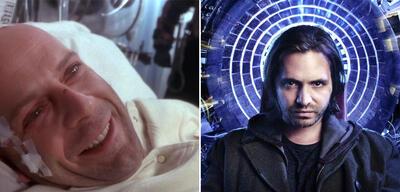 12 Monkeys: Film (links) und Serie (rechts)