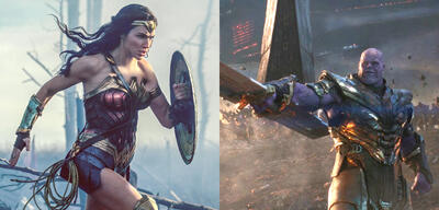 Wonder Woman und Thanos