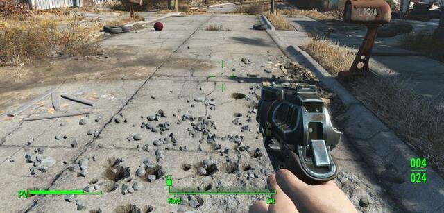 Der Debris Effect in Fallout 4