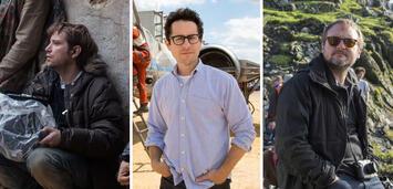 Bild zu:  Star Wars-Regisseure: Gareth Edwards, J.J. Abrams und Rian Johnson
