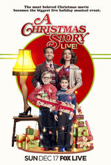 A Christmas Story Live! - Poster