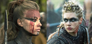 Thusnelda aus Barbaren & Lagertha aus Vikings