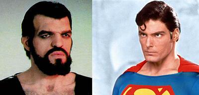 Jack O'Halloran als Non & Christopher Reeve als Superman
