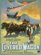 The Covered Wagon - Poster