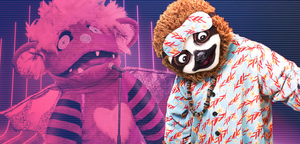 The Masked Singer mit Faultier