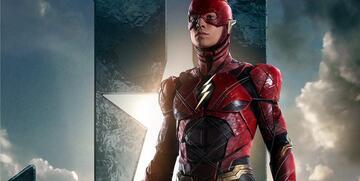 Ezra Miller als Flash