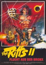 The Riffs II - Flucht aus der Bronx - Poster