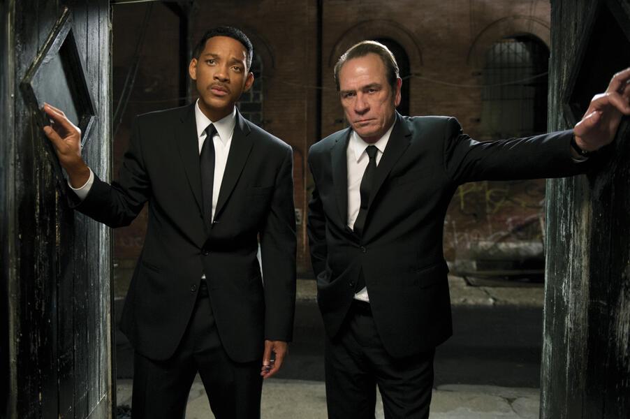 Men in Black 3 mit Tommy Lee Jones