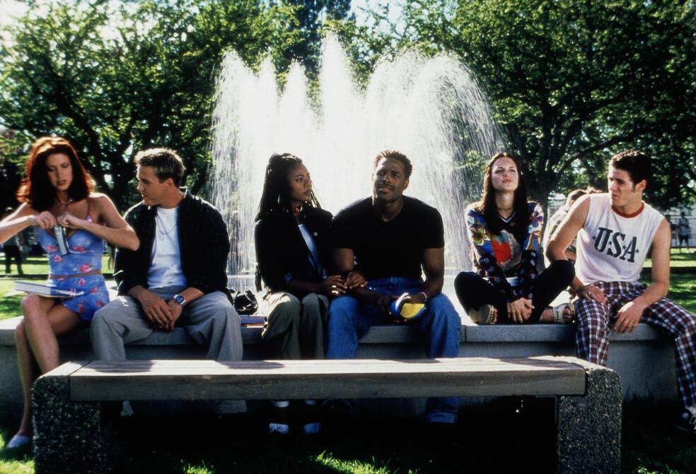 Scary Movie mit Marlon Wayans, Shannon Elizabeth, Regina Hall und Frank B. Moore