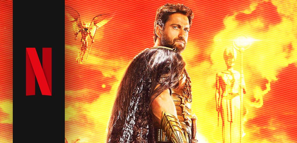 Gerard Butler in Gods of Egypt