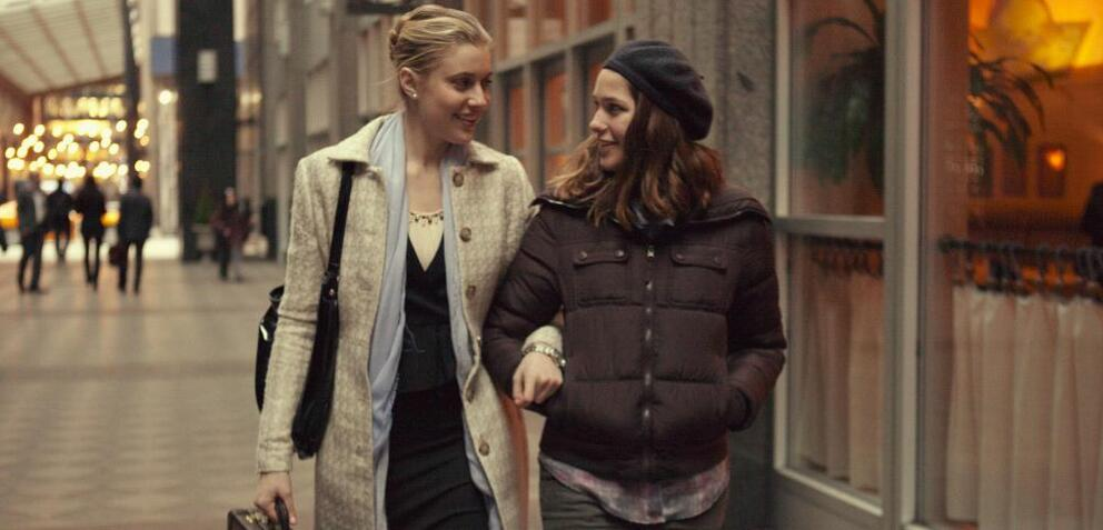 Greta Gerwig & Lola Kirke in Mistress America