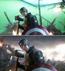 Captain America ist des Hammers würdig