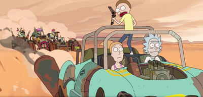 Rick and Morty -Rickmancing the Stone