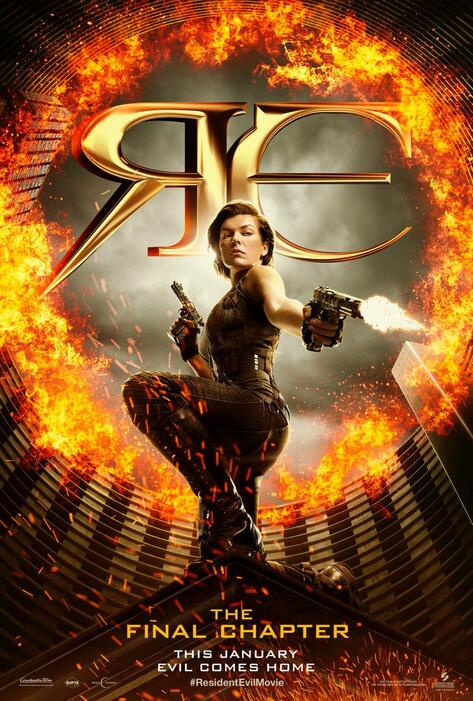 Resident Evil 6 The Final Chapter Stream
