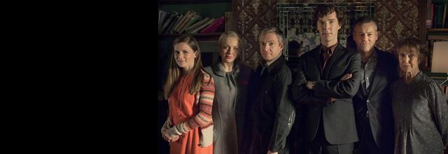 Sherlock season 3 banner