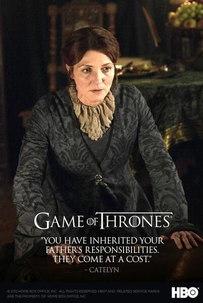 Game of Thrones - Staffel 2 mit Michelle Fairley
