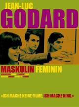 Masculin - Feminin oder: Die Kinder von Marx und Coca Cola - Poster