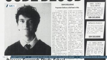 Die Zeitung mit zahlreichen Referenzen in Black Mirror: Bandersnatch