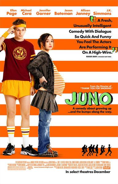 Juno mit Ellen Page und Michael Cera