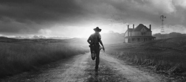 Rennen die Beißer demnächst im Schwarzweißlook in The Walking Dead herum?