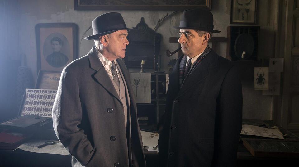 Kommissar Maigret: Die Nacht an der Kreuzung mit Rowan Atkinson