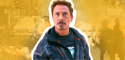 Tony Stark in Avengers 3: Infinity War
