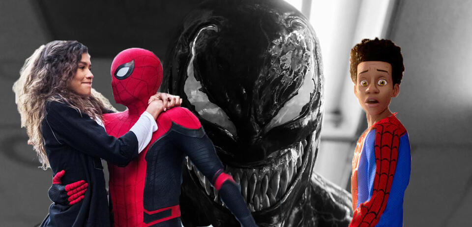 Spider-Man: Far From Home/Venom/Spider-Man: A New Universe