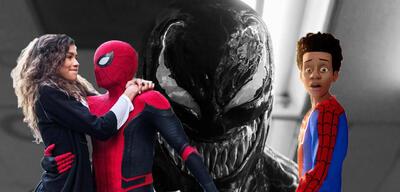 Spider-Man: Far From Home/Venom/Spider-Man: A New Universe