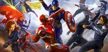 Bild zu:  Captain America: Civil War-Poster