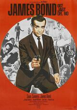 James Bond 007 jagt Dr. No - Poster