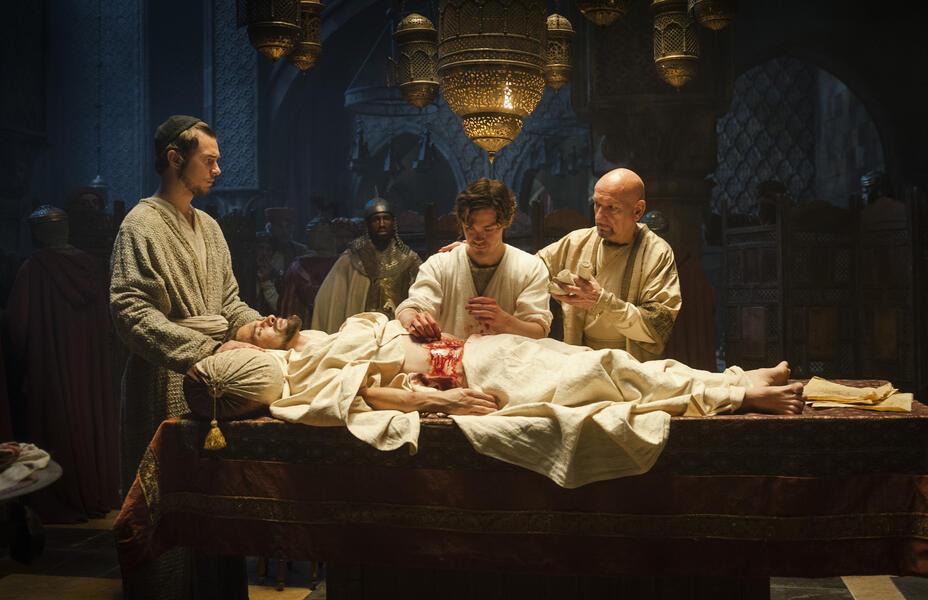 Der Medicus mit Ben Kingsley, Tom Payne und Olivier Martinez