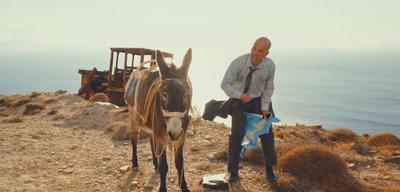 Christoph Maria Herbst (im Bild wahrscheinlich rechts) in Highway to Hellas