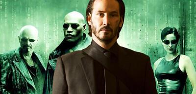 Keanu Reeves in John Wick/Matrix
