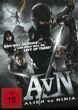 Alien vs. Ninja - Poster