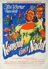 Königin einer Nacht - Poster