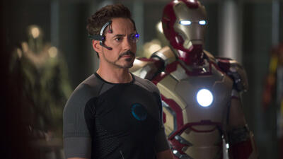 Robert Downey Jr. als Iron Man