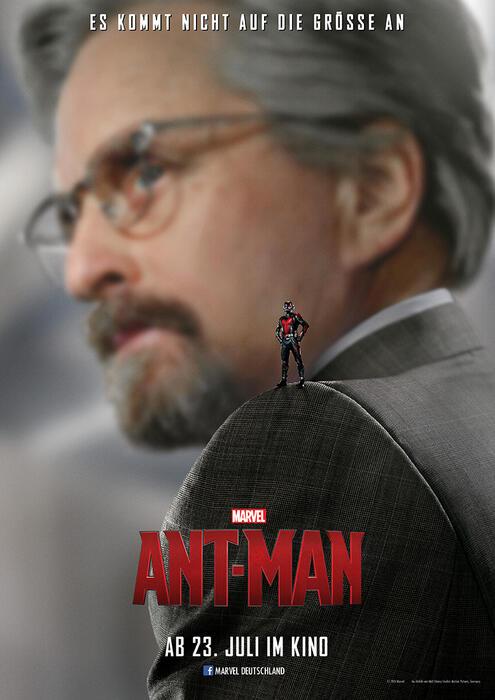 Ant-Man mit Michael Douglas