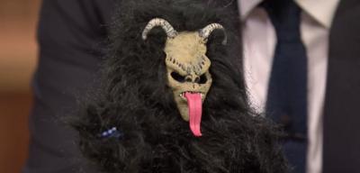 Der Krampus in der Tonight Show mit Jimmy Fallon