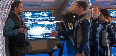 Star Trek: Discovery - Harry Mudd und Captain Lorca nebst Besatzung