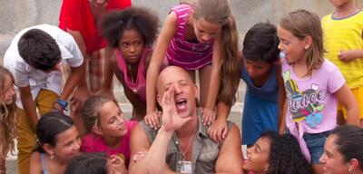 Vin Diesel am Set von Fast 8