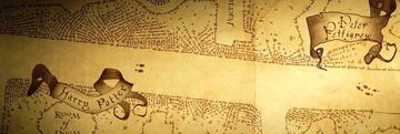 Harry Potter und der Gefangene von Askaban: die Karte des Rumtreibers mit Peter Pettigrew