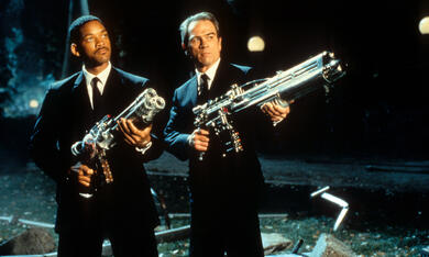 Men in Black mit Will Smith und Tommy Lee Jones - Bild 2
