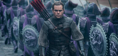 The Great Wall mit Matt Damon