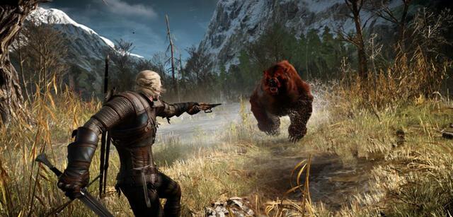 Geralt muss nicht nur gegen Monster bestehen